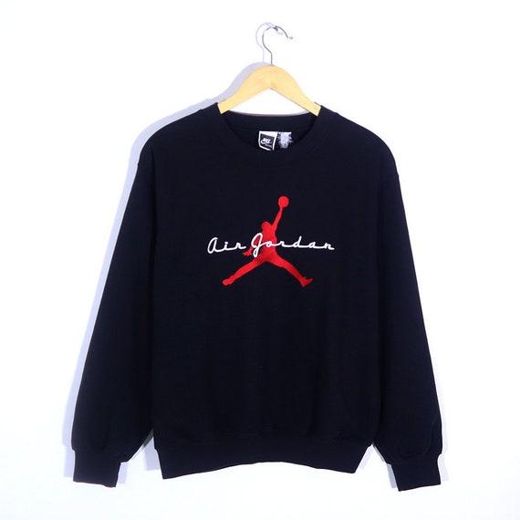 Vintage 80s 90s NIKE Air Jordan Sweatshirt Sweater