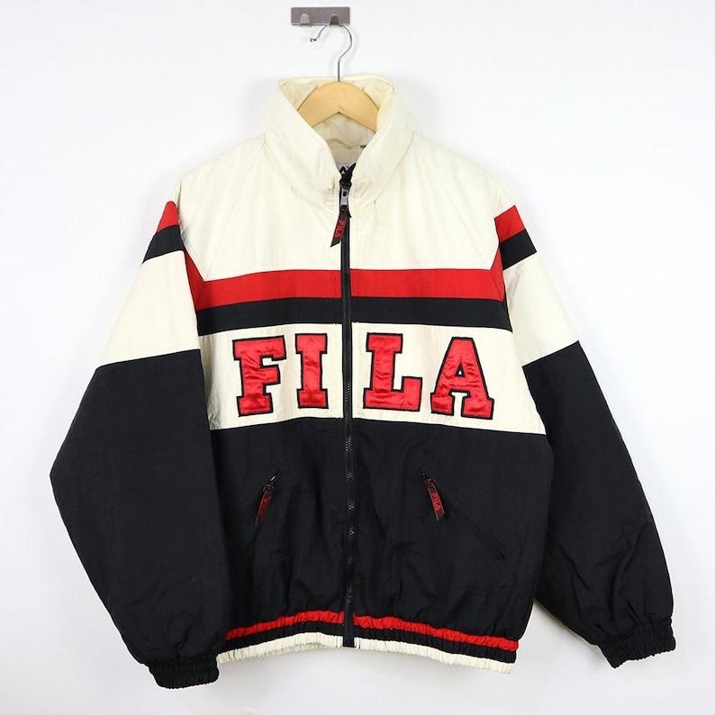 23287e12796b FILA Rare Vintage FILA 90s Puffer Puffy Jacket / Italia FILA | Etsy