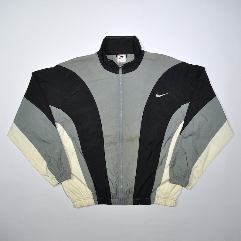 a5540ed6690be0 Rare Vintage 80s 90s NIKE Windbreaker Shell Spary Colorway