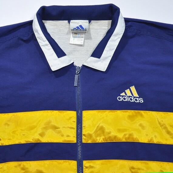 Rare Veste S Colorway Vintage Adidas 80 90 Vent Coupe Des Années xrArf0wYqP