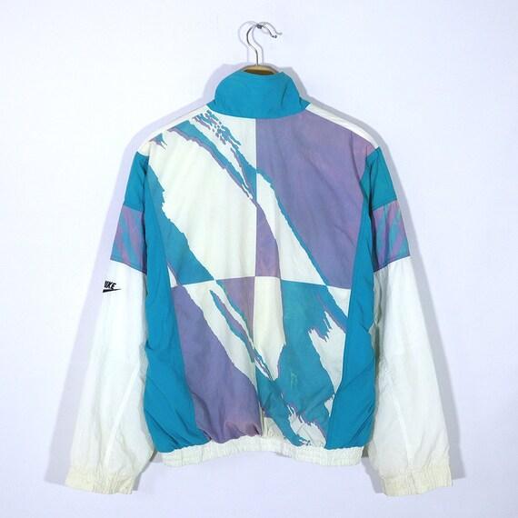 Vintage 90s NIKE CHALLENGE COURT Windbreaker Shell