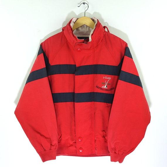 Vintage 90s NAUTICA CHALLENGE J-CLASS Colorway Win