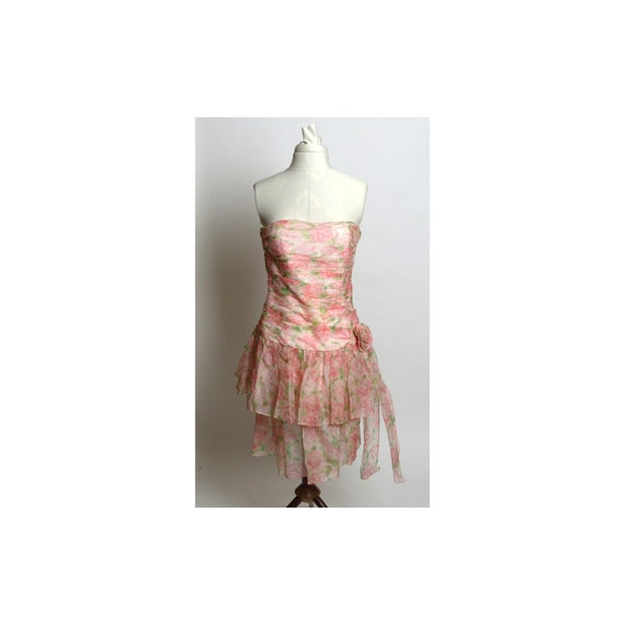 Circa 1980s Maggy London by Jeannene Booher Pink S