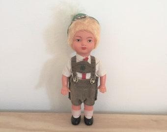 Austrian Boy Doll/ Austrian Doll/ Austrian Figure/ Austrian Boy Figure/ Austrian Toy
