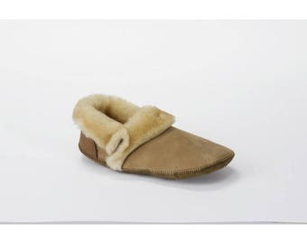 shearling slippers etsy