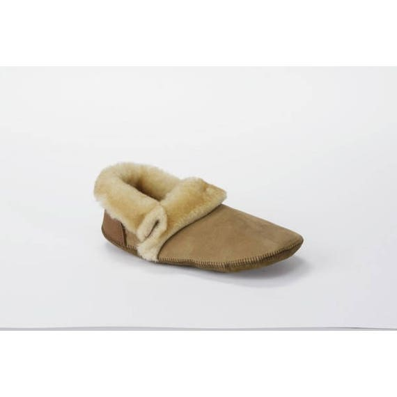 Sven Mens Shearling Slippers-Duck Foot