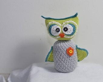 Beautiful cotton OWL amigurumi Teddy