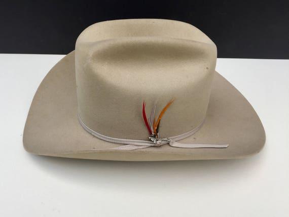 dc1643b91e9579 Vintage Stetson Hat with Box 3XXX Beaver Stetson. | Etsy