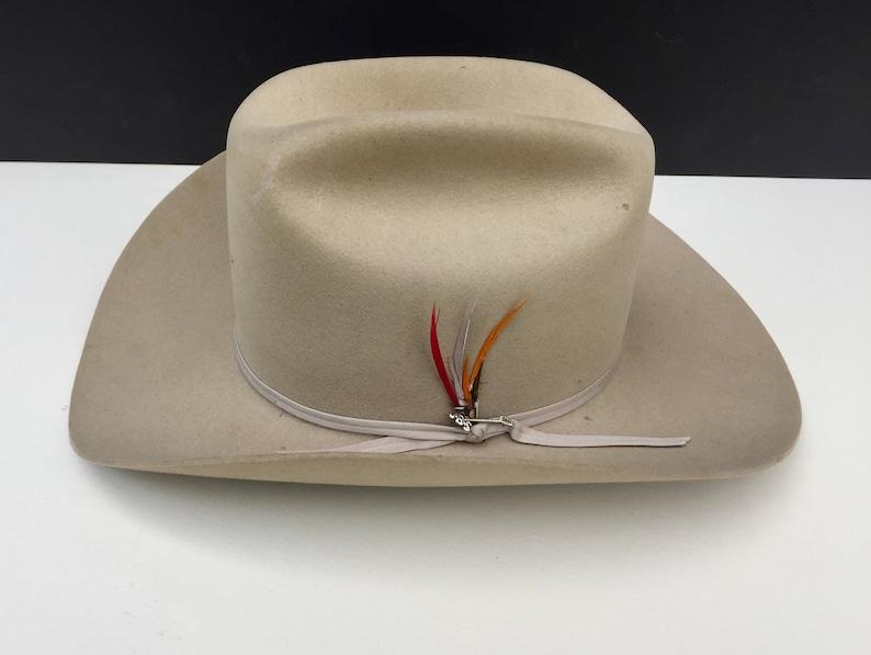 f772eb41e1eb7 Vintage Stetson Hat with Box 3XXX Beaver Stetson.