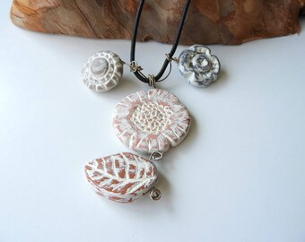 Fashion necklace weathered Shabby chic - woman - wholesale jewelry - gift for her jewelry