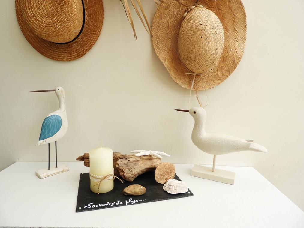d coration de table bougeoir bord de mer centre de table etsy. Black Bedroom Furniture Sets. Home Design Ideas