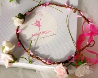 Do It Yourself wedding flower Crown