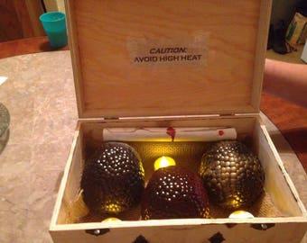 Dragon Eggs and storage box