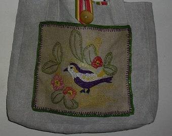 vintage shoulder bag tote bag