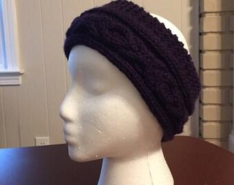 Hugs and Kisses Headband - Purple