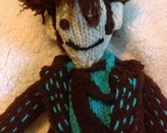 Tenth Doctor Knitting Pattern