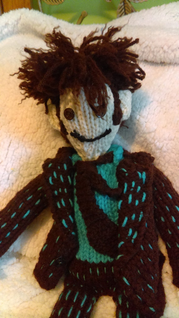 Tenth Doctor Knitting Pattern