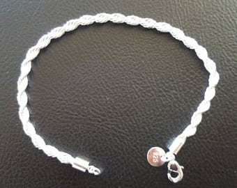 chain bracelet in Silver 925 + 1 certificate of authenticity