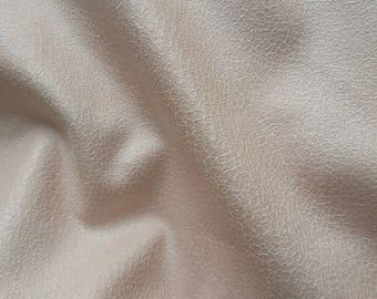 light pink faux suede powder 25 x 145 cm