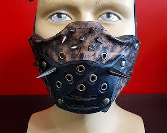 Storm Fury leather mask