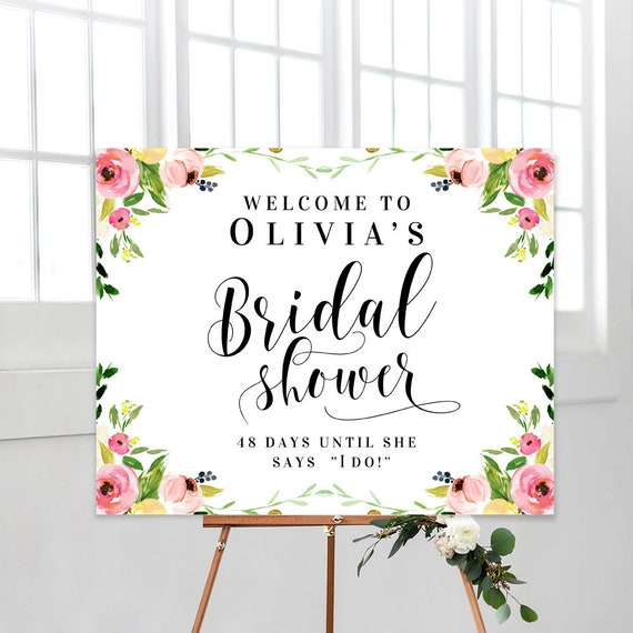 Sly image throughout printable bridal shower signs