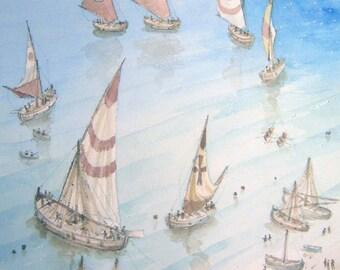 A dance of sails-Dance Wonders