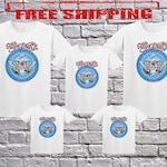 Wayne's World Garth Aerosmith T-shirt Halloween Costume White Shirt