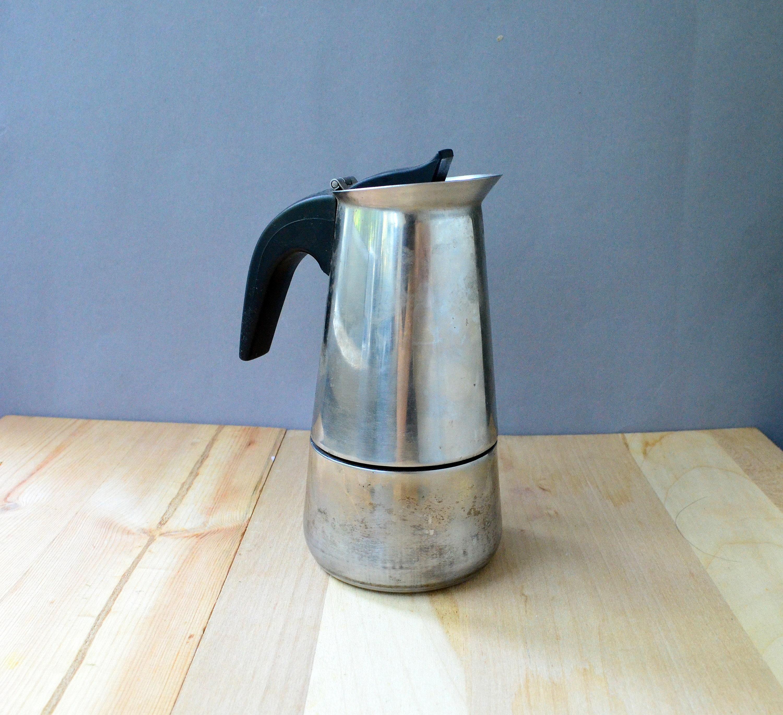 Metal Small Coffee Pot Stovetop Coffee Espresso Maker Strainer Etsy