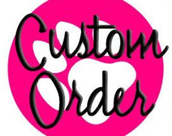 Pet Leash Custom Listing