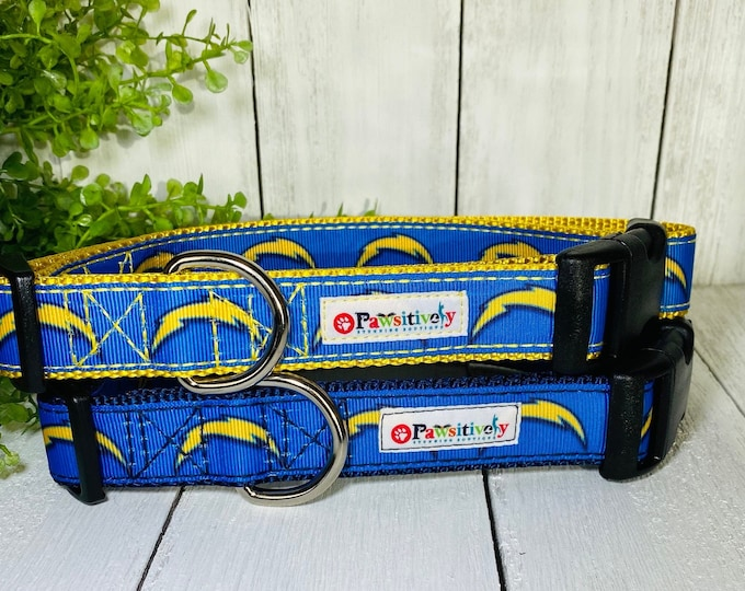 """Los Angeles Chargers Dog / Pet Collar 1"""""""