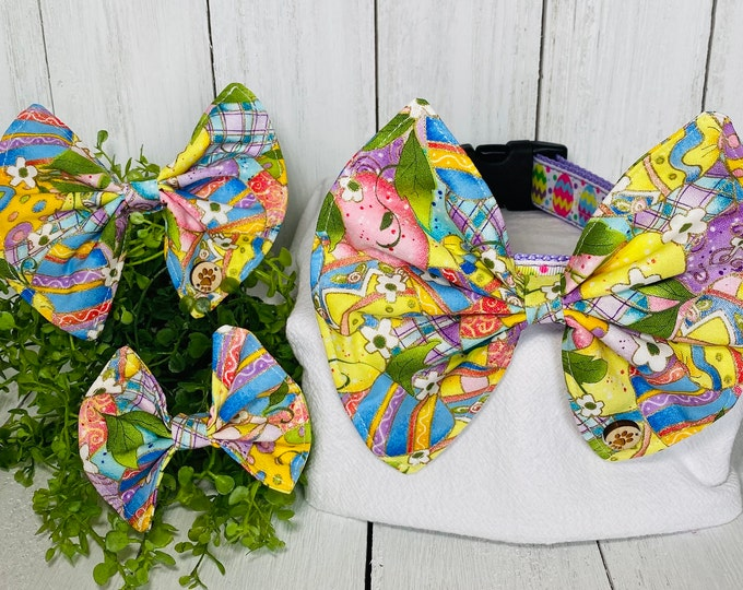 Easter Bow / Bow Tie for Pet Collar