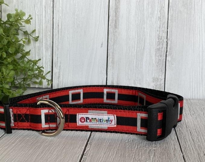 """Santa's Belt 1""""Dog Collar"""