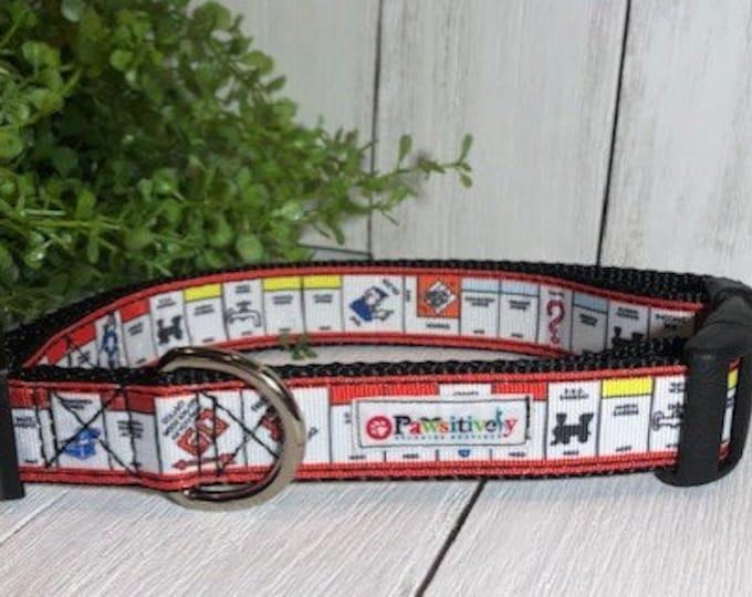 Monopoly Game Day, Dog Collar