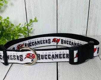 "Tampa Bay Buccaneers 1"" Dog Collar"