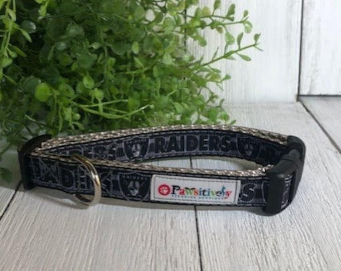 "Las Vegas Raiders, 5/8""Dog Collar"