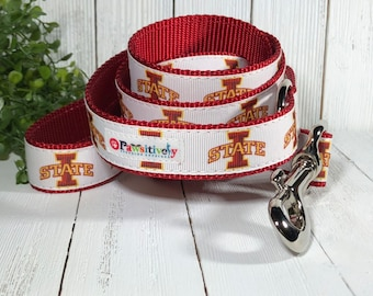 Pet Leash, Iowa State Cyclones, 6 ft. or 4 ft.