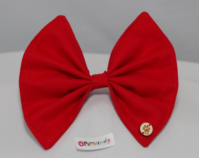 BIG RED BOW (S, M, L)