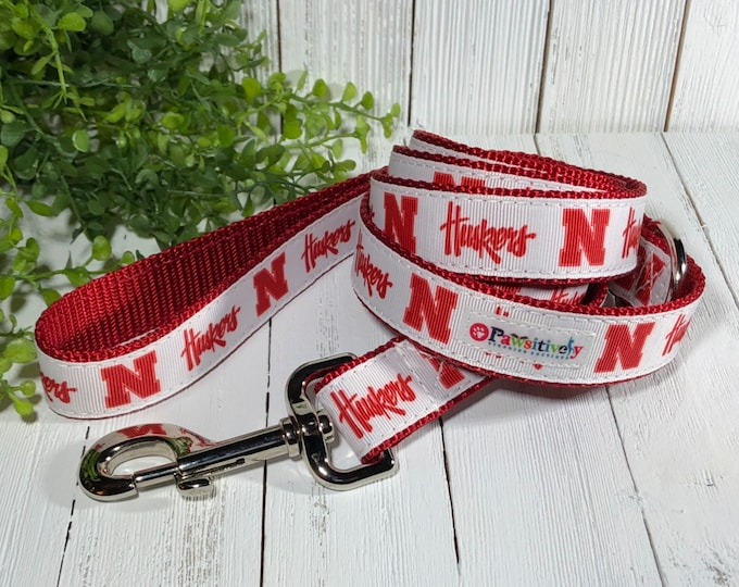 Pet Leash, Nebraska Cornhuskers, 6 ft.