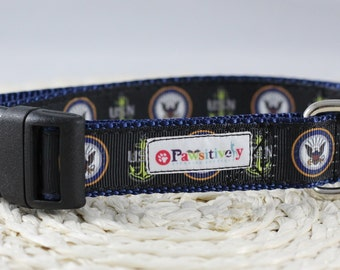 Dog Collar US Navy