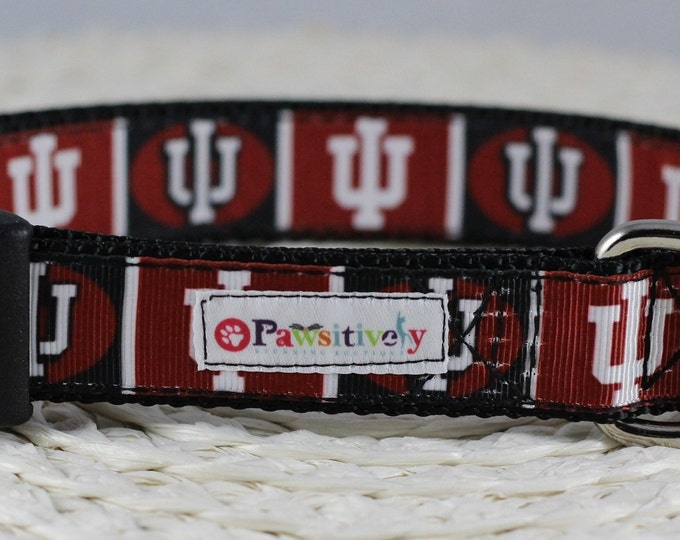 University of Indiana Dog Collar