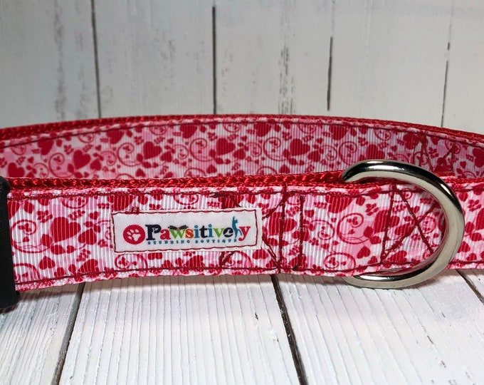 Dog Collar Valentine's Day