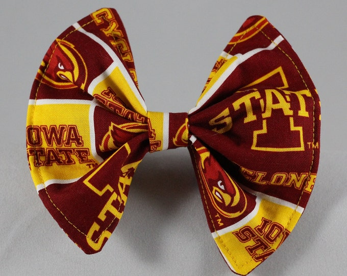 Pet Bow Iowa State Cyclones