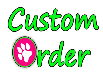 "Custom 1"" Dog Collar, Optional Matching 6ft Leash"
