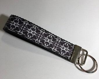 Black and White Key Chain