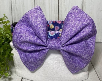 Purple Bow / Bow Tie for Pet Collar