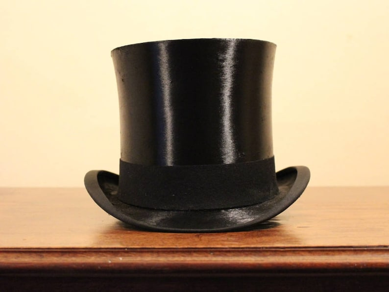 JANUARY SALE Scott and Co Edwardian Extra Quality Silk Top Hat  2008668b56c1