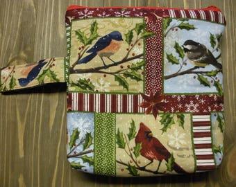 Christmas Project Bag (birds)