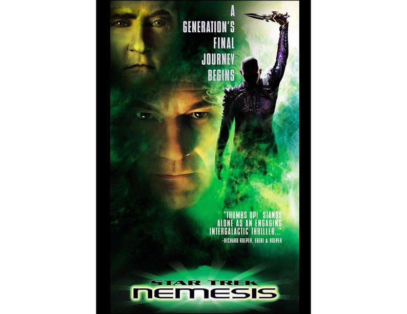 Star Trek Nemesis Movie Poster Print  2002  Science Fiction image 0