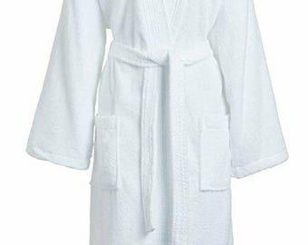 Terry Cloth Robe Etsy