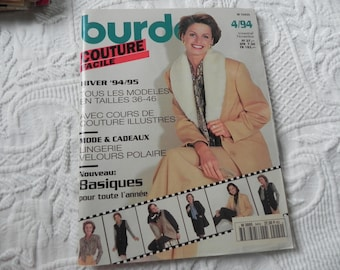 BURDA sewing easy November 1994 magazine